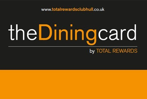 The Dining Card - normally priced at £75 a year, Offer Price £30.00 saving you 60%